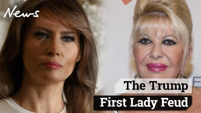 The Trump First Lady Feud