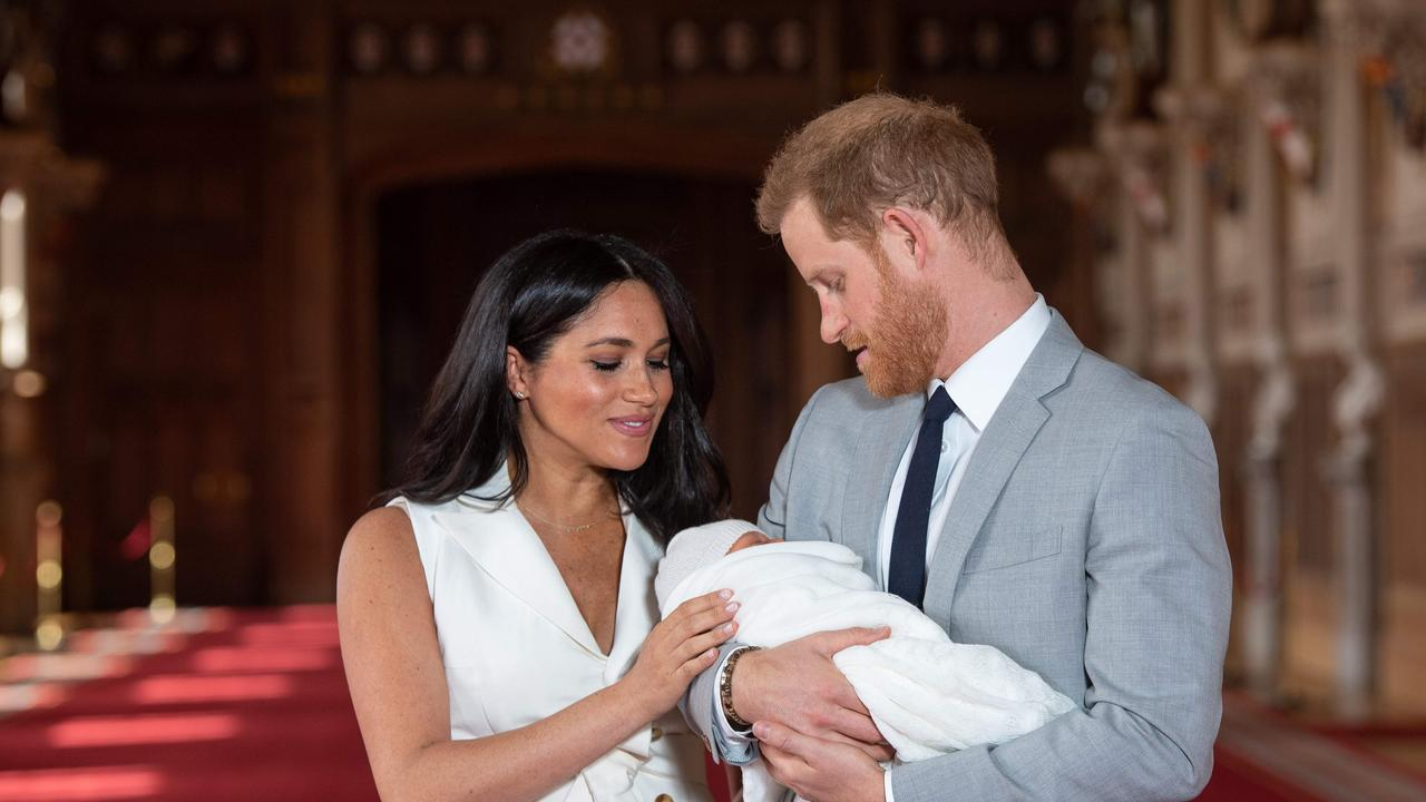 Harry and Megan have a son, Archie. Picture: Dominic Lipinski / POOL / AFP