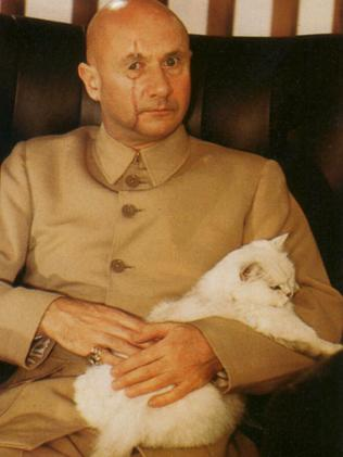 The villain known as Ernst Blofeld appears in seven 007 movies.