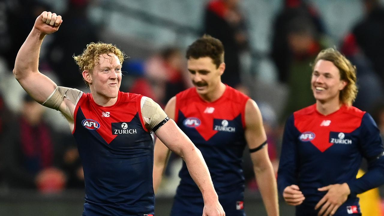 Melbourne is undefeated after the opening month of AFL action.