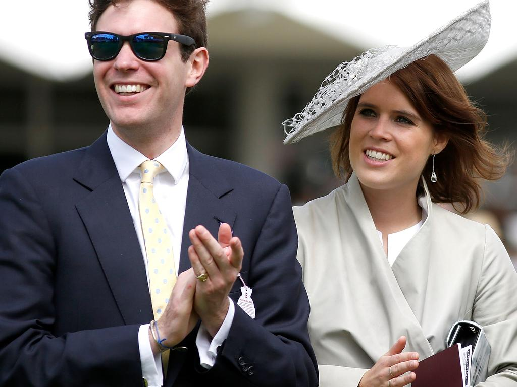 Princess Eugenie and Jack Brooksbank also announced their son's arrival on Instagram and chose the same hospital for the birth. Picture: Tristan Fewings/Getty Images for Qatar Goodwood Festival