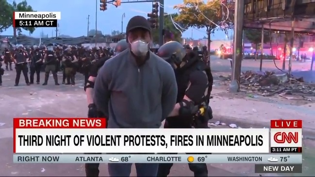 CNN reporter arrested while reporting live in Minneapolis (CNN)