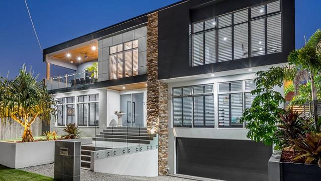 This house at 32 Gristock St, Coorparoo, is for sale. Picture: realestate.com.au.
