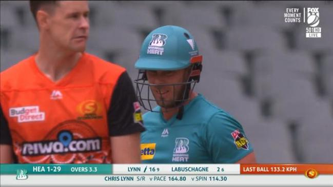Lynn catches fire against Scorchers