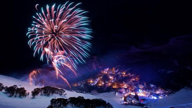 Falls Creek has been known to host some epic fireworks.
