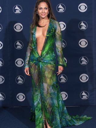 Jennifer Lopez at the 2000 Grammy Awards. Picture: Scott Gries