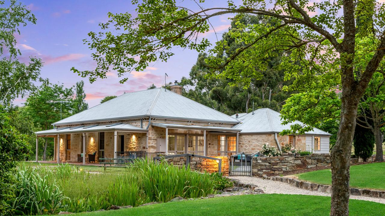 2485 Greenhill Rd, Balhannah. Supplied by Williams Real Estate.