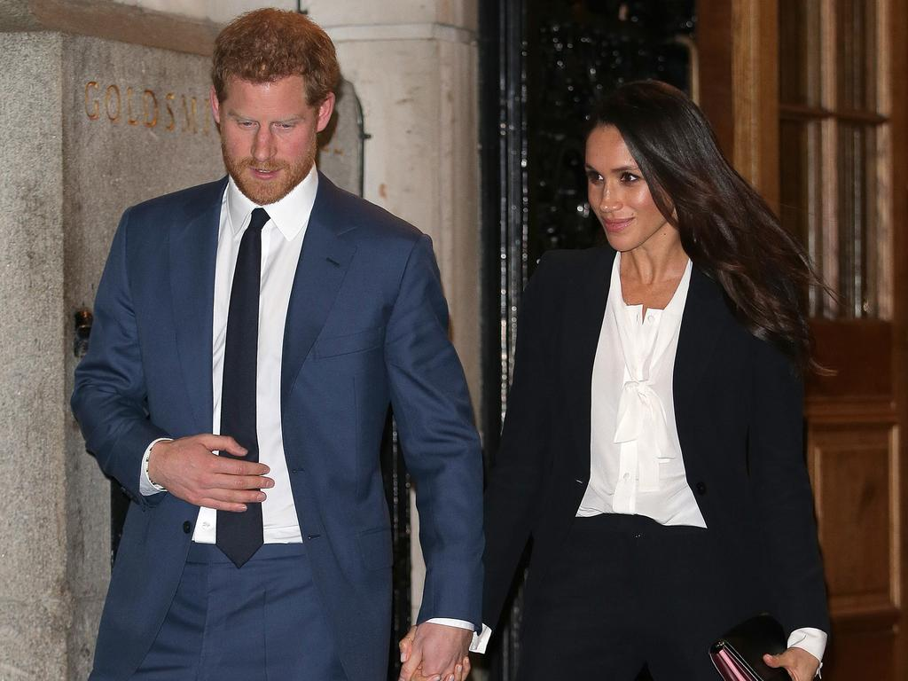 Meghan's chic ensemble should've been a red flag. Picture: Ben Stansall – WPA Pool/Getty Images