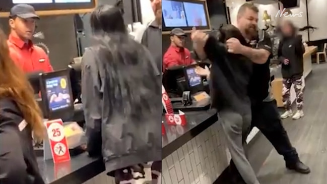 Teen hurls vile abuse, spits at McDonald's worker