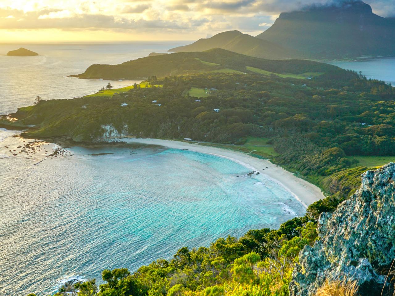 Supplied Travel LORD HOWE ISLAND. View from Malabar Track. For story by Celeste Mitchell. Picture: Jackson Arkadi