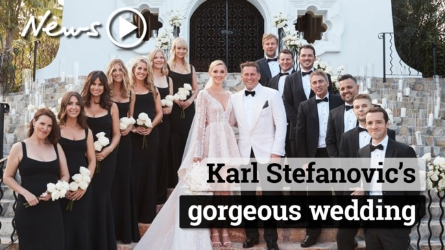 Karl Stefanovic's gorgeous wedding ceremony
