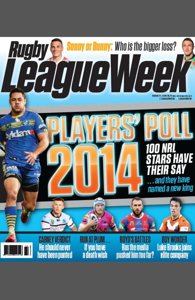 This weeks issue of RLW.