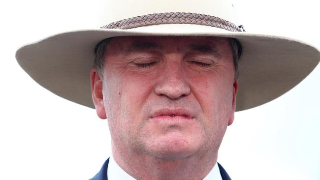 Mr Joyce announced that he will resign from his position as Nationals Party Leader and Deputy Prime Minster. Picture: Hollie Adams/The Australian