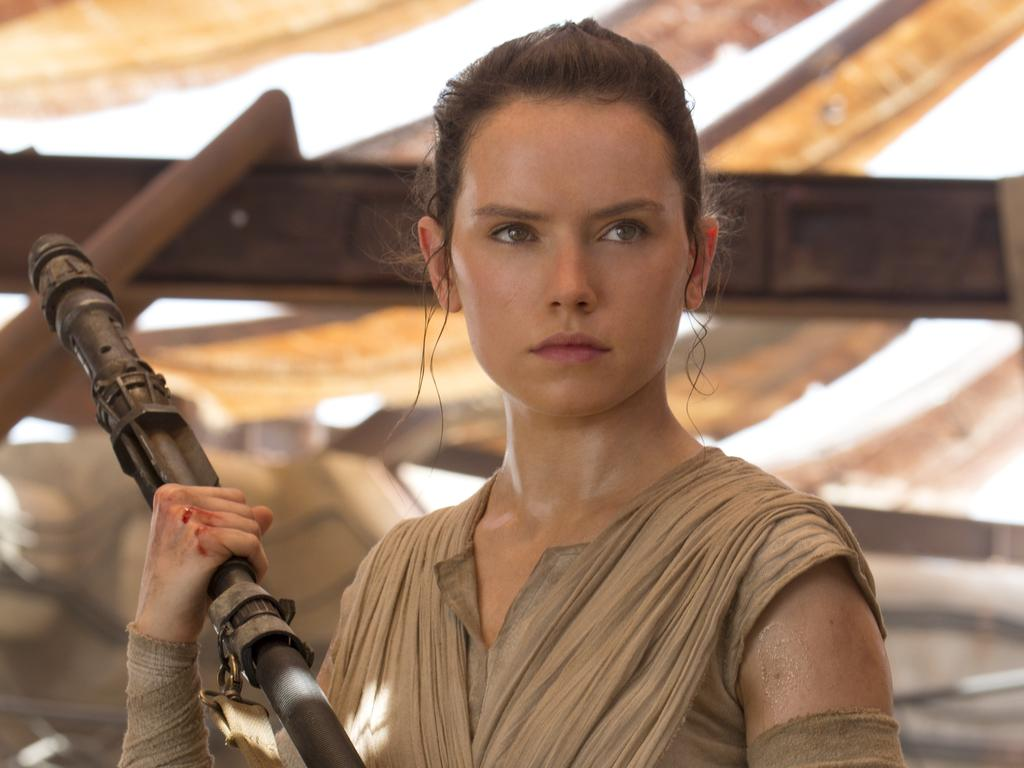 Daisy Ridley as Rey. Picture: David James