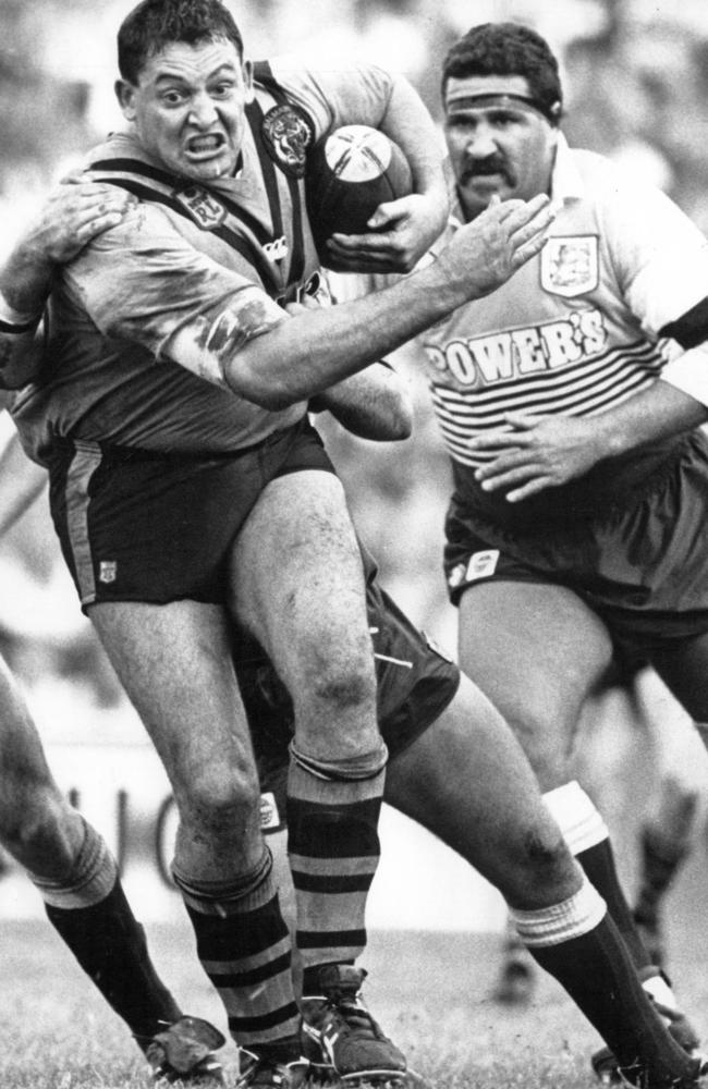 Steve Roach in action during his playing days