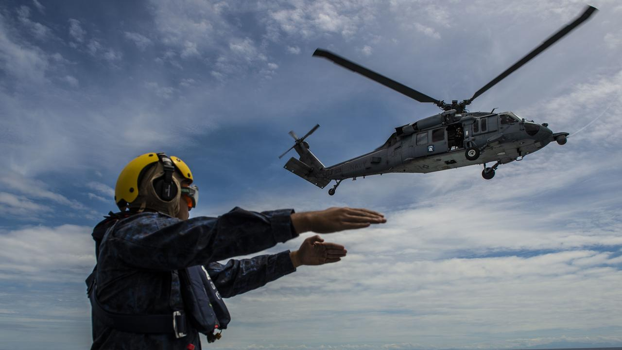 The US and other countries, including Australia, have been conducting operations in the disputed waters of the South China Sea over the years. Picture: US navy photo by Mass Communication Specialist 2nd Class Christopher A. Veloicaza