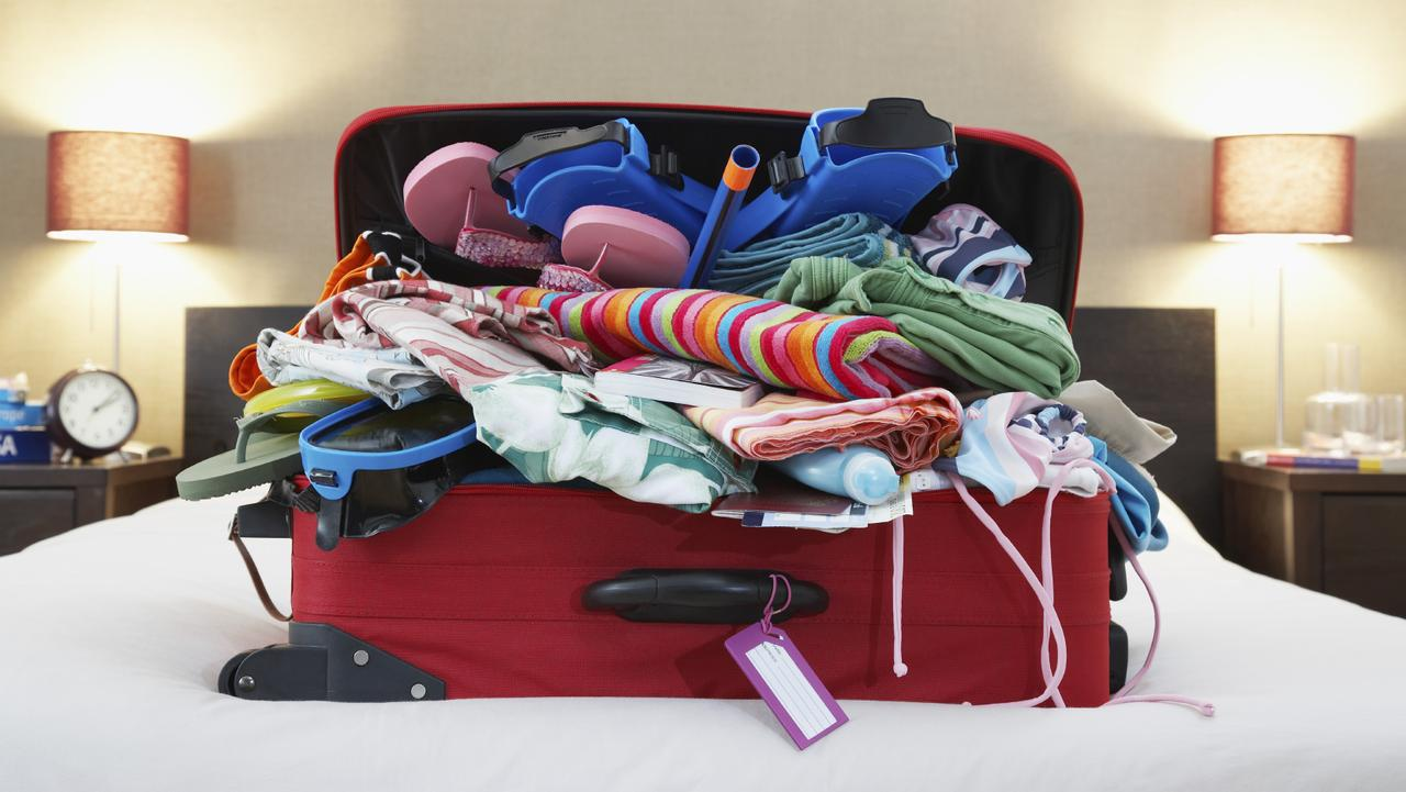 Ziploc bags can help reduce your luggage. Picture: iStock