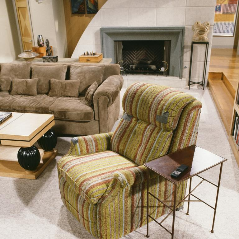 If your recliner looks like the famous one used by Martin Crane in Fraser, it's probably time for an update. Picture: Paul Drinkwater/NBCU Photo Bank/NBCUniversal via Getty Images via Getty Images