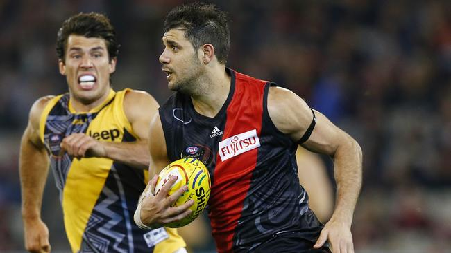 Paddy Ryder is determined to leave Essendon. Picture: Michael Klein