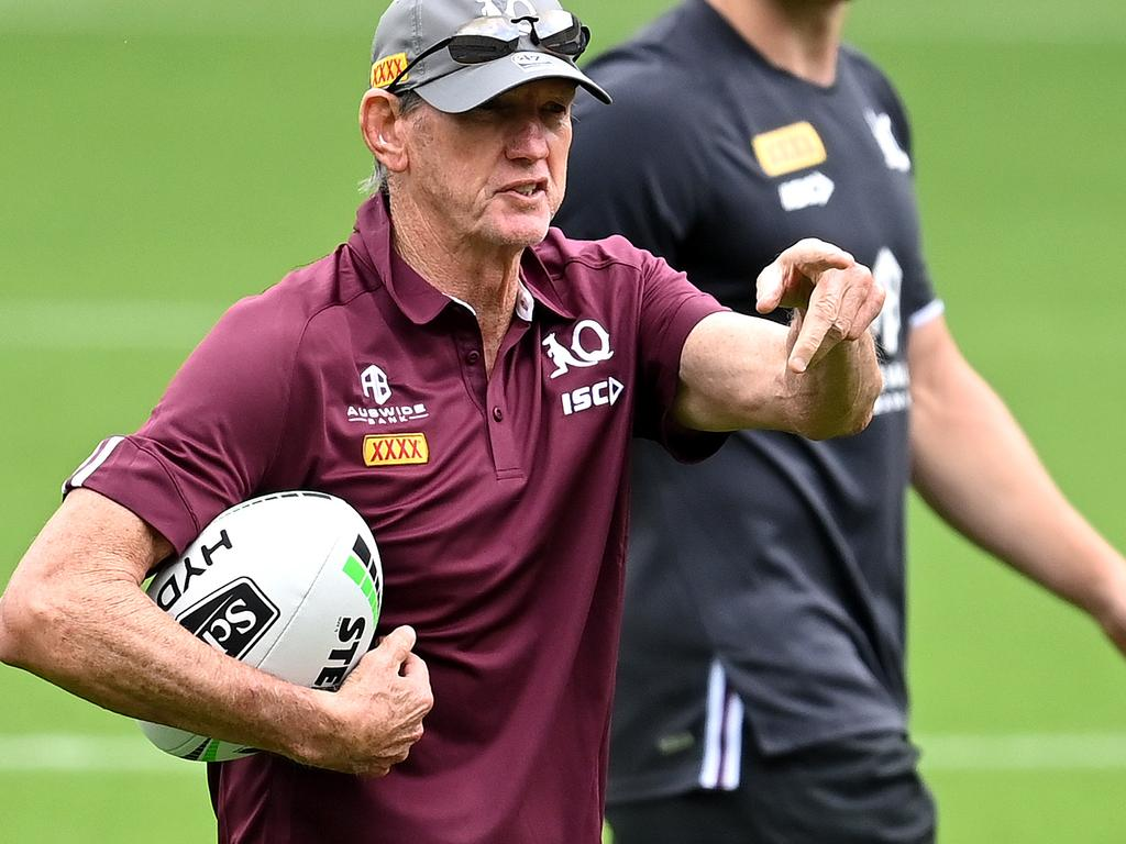 Queensland coach Wayne Bennett says his team is not the underdogs.