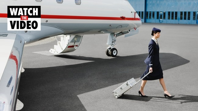 What are the secrets you don't know about flight attendants