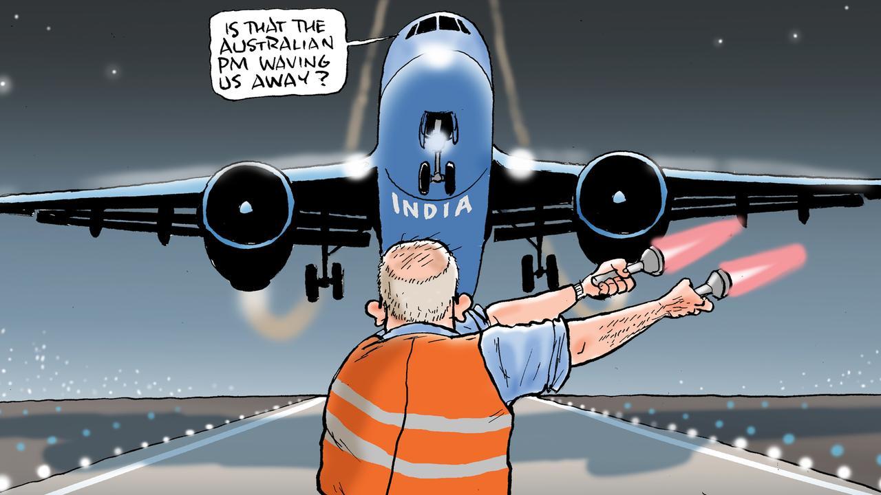 Part of Mark Knight's cartoon.