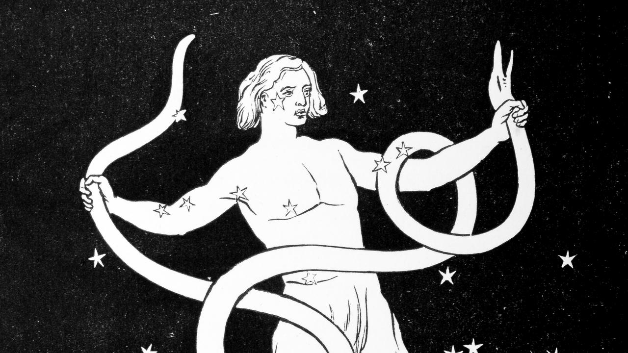 Ophiuchus is symbolised by a snake bearer. Picture: iStock.
