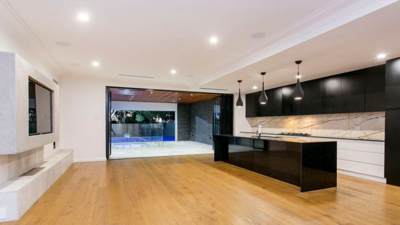 Many househunters have been attracted to the home's sleek interior. Pic: realestate.com.au