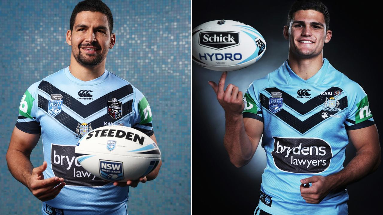 Cody Walker and Nathan Cleary will form a new Blues halves pairing in 2019.
