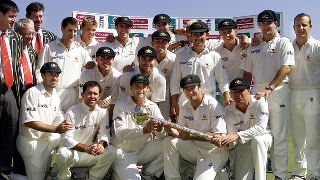 Steve Waugh, Shane Warne and Matthew Hayden led Australia to the top of world cricket.