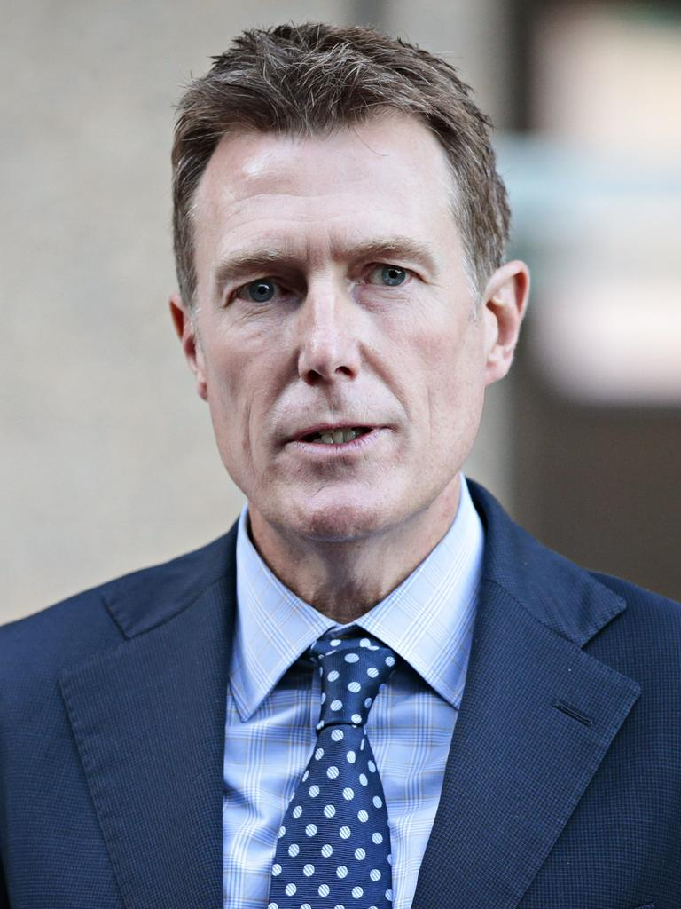 Christian Porter discontinued his defamation case against the ABC last week. Picture: NCA NewsWire/Adam Yip