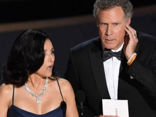 So are we presenting the award or presenting the envelope to another presenter? Photo: Getty