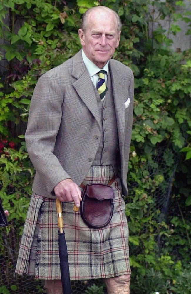 Prince Philip is recovering in hospital. Picture: Pool Photograph/Corbis/Corbis via Getty Images