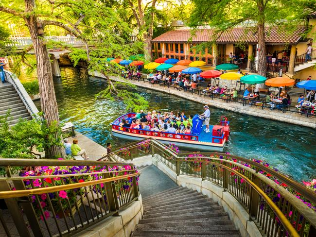 SAN ANTONIO, TEXAS Step aside, Dallas, Houston and Austin, and let San Antonio shine. For the sheer amount of attractions the city offers, it doesn't get nearly enough attention. Think galleries and museums, breweries and distilleries and a buzzing River Walk packed with restaurants, bars and shops.
