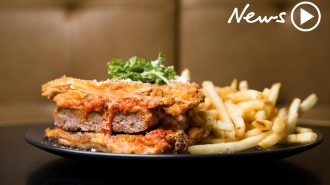 Sydney's insane Lasagne Burger!