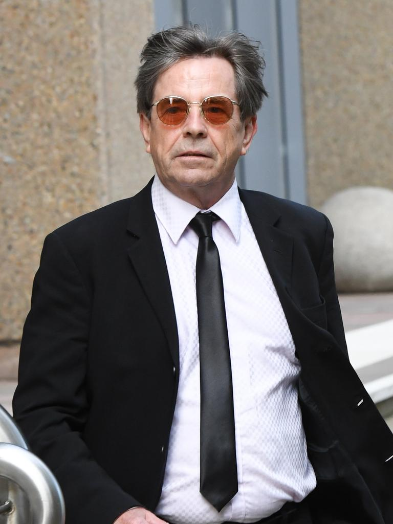 Australian singer John Paul Young supported Vanda in court. Picture: Peter Rae/AAP