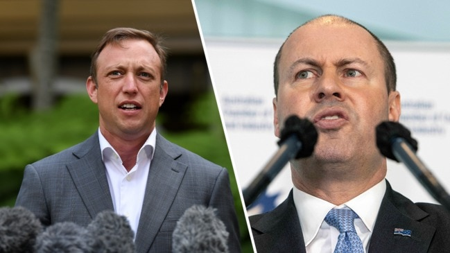 Josh Frydenberg says Steven Miles is 'a fool' who 'obviously can't read'