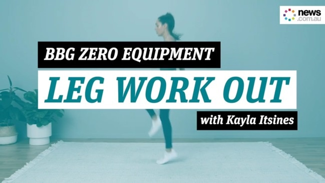 You Got This: Kayla Itsines Zero Equipment leg work out