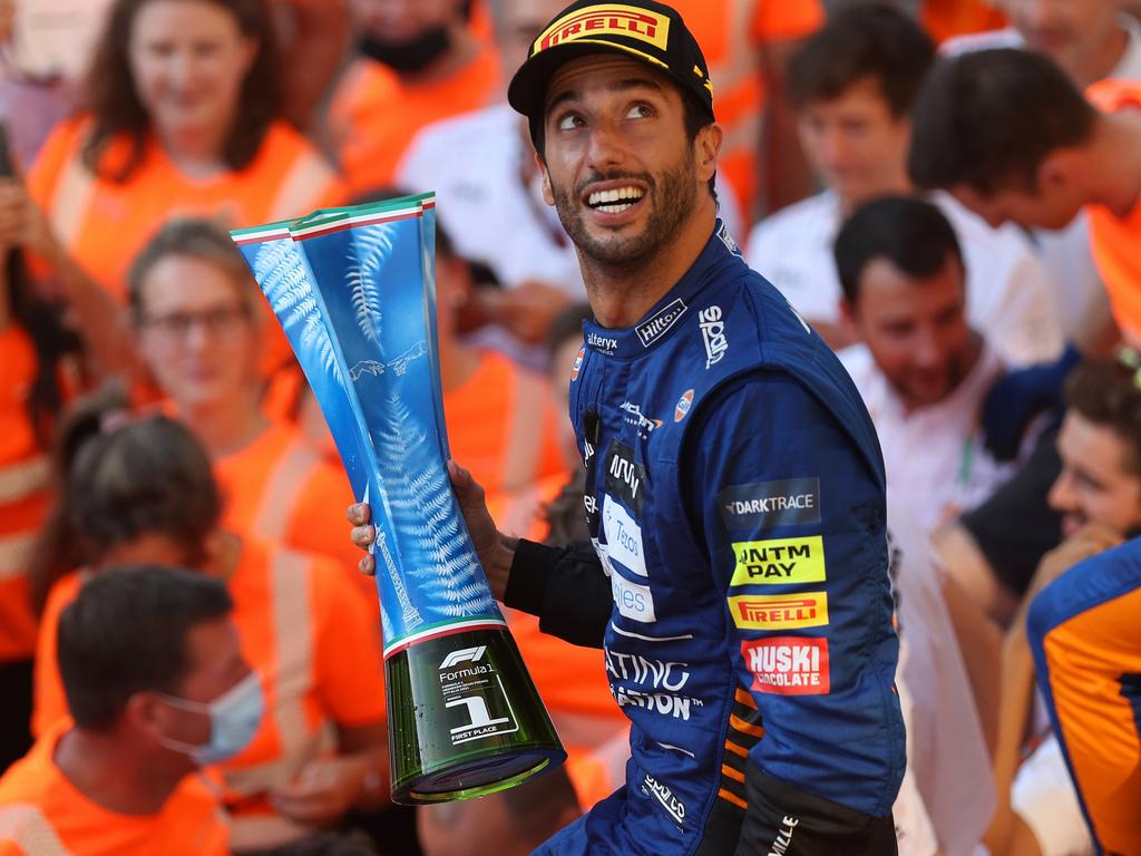 Ricciardo's victory in Italy will get the Netlflix treatment. (Photo by Lars Baron/Getty Images)