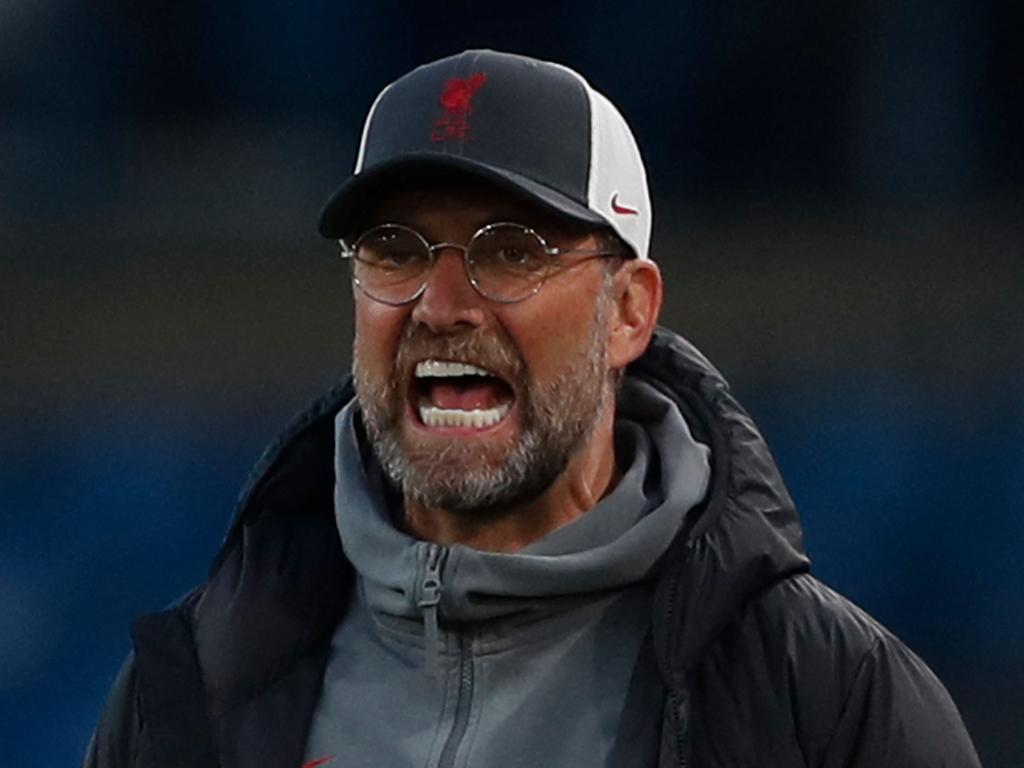 Liverpool's German manager Jurgen Klopp. (Photo by LEE SMITH / POOL / AFP)