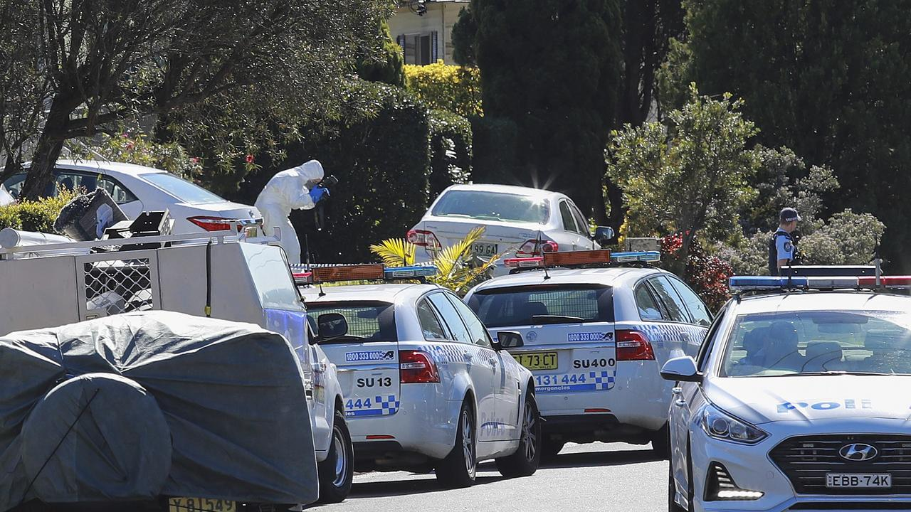 Police arrived at the Tudar Rd home following a concern for welfare. Picture: Justin Lloyd