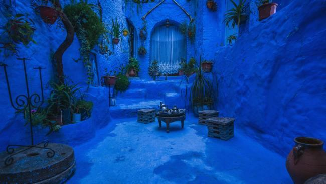 Chefchaouen, Morocco Up in the Rif mountains lies Morocco's famous blue city of Chefchaouen. (Psst - here's what to do when you get there.) Picture: Federico Gutierrez/Unsplash