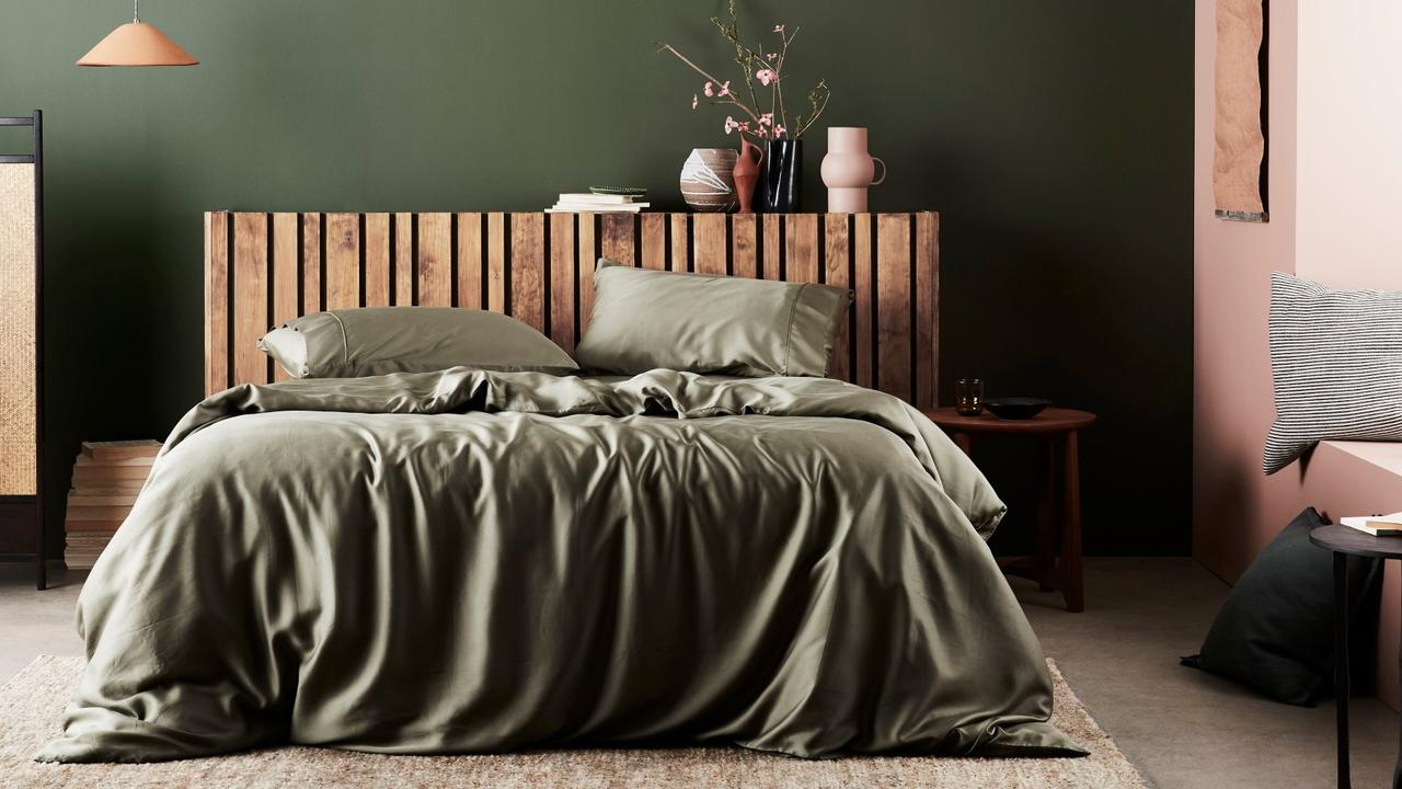 Want a better night's sleep? Invest in bamboo bedding. Image: Ettitude.