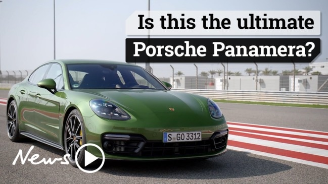 Is this the ultimate Porsche Panamera?