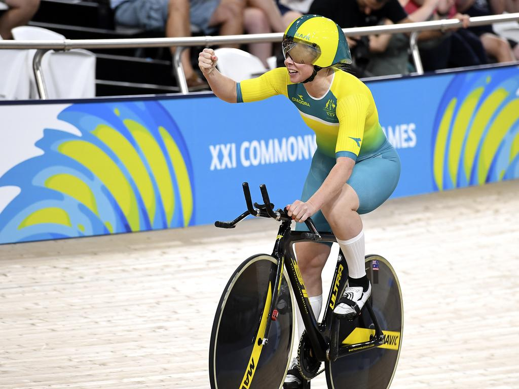 Karlee McCulloch won gold on two occasions at the 2018 Commonwealth Games.