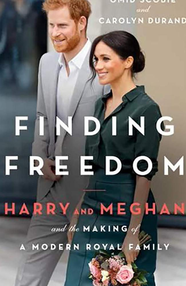 Finding Freedom: Harry and Meghan and the Making of A Modern Royal Family by Omid Scobie and Carolyn Durand.