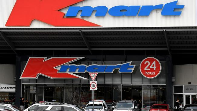 Kmart is leading the retail pack but Harris Scarfe wants a piece of the pie. Picture: Nicole Garmston