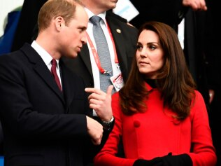 The Duke and Duchess of Cambridge have been accosted by rumours. Picture: AFP