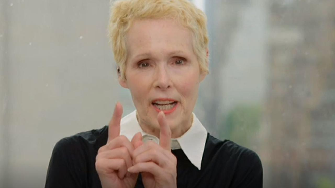 E. Jean Carroll said Mr Trump has been made more powerful by accusations against him. Picture: 7.30