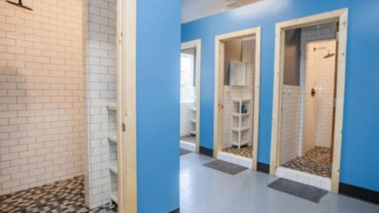 At least there's more privacy in the bathrooms. Picture: PodShare